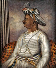 Tipu Sultan, ruler of the Kingdom of Mysore