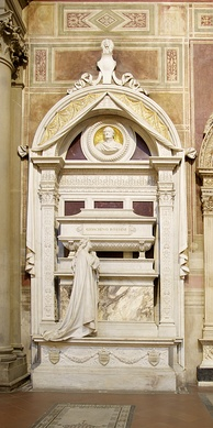 Rossini's final resting place, in the Basilica of Santa Croce, Florence