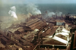 U.S. Steel's Gary Works in 1973