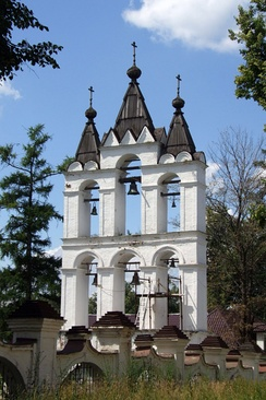 Zvonnitsa of Transfiguration Cathedral in Vyazemy near Moscow.