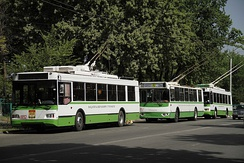 Trolleybuses in Dushanbe
