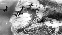Formation of A-20 Havocs of the 410th Bombardment Group