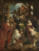 Adoration of the Magi, Peter Paul Rubens, (1624), Royal Museum of Fine Arts Antwerp, 298