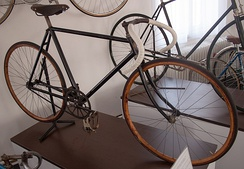 Aero Special track bicycle, original, c 1910