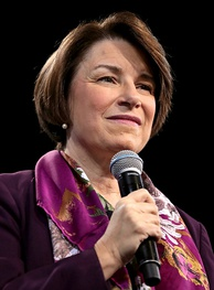 Klobuchar in April 2019