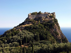 The Byzantine castle of Angelokastro successfully repulsed the Ottomans during the First Great Siege of Corfu in 1537, the siege of 1571, and the Second Great Siege of Corfu in 1716, causing them to abandon their plans to conquer Corfu.[74]