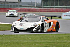 McLaren 650S GT3 at Silverstone National Circuit