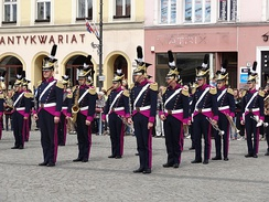 The band of the Bydgoszcz garrison performing on May 3rd Constitution Day, 2014