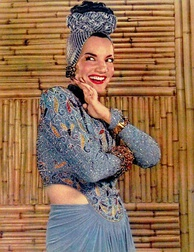 Brazilian singer Carmen Miranda helped popularize samba internationally.