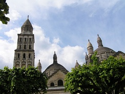 The bell tower of St Front's cathedral