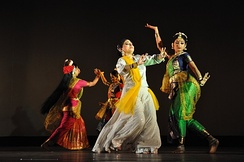 Dance accompanied by Rabindra Sangeet