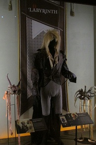 Bowie's costume from Labyrinth at the Museum of Pop Culture, Seattle