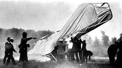 Crashed Wright Flyer that took the life of Selfridge September 17, 1908