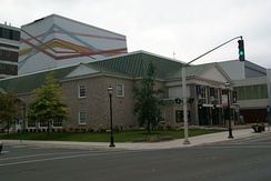 Built at the behest of The Lord Beaverbrook, the Playhouse is a non-profit organization venue for hosting local and touring performers.