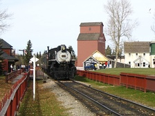 Canadian Pacific Railway 0-6-0 no.2024 at Heritage Park