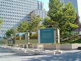 Millennium Park is an urban park, that is partitioned into areas with various special uses.