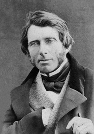 John Ruskin, whose writings inspired the young Clark
