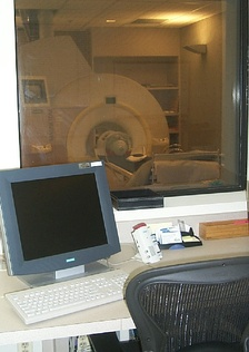 MRI machine used at the Krasnow Institute for Advanced Study[111]
