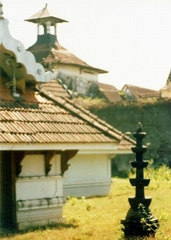 Mattancherry Palace-temple, built during the Portuguese period by the Cochin Raja Veera Kerala Varma