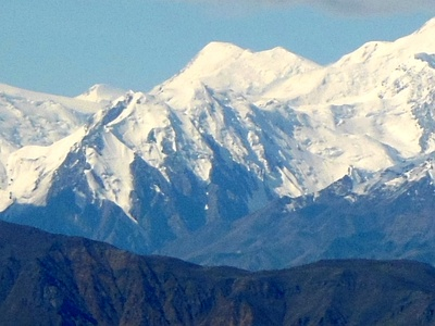 Mount Lucania in Yukon is the highest summit of the northern Saint Elias Mountains.