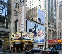 New Amsterdam Theatre showing Mary Poppins, 2007