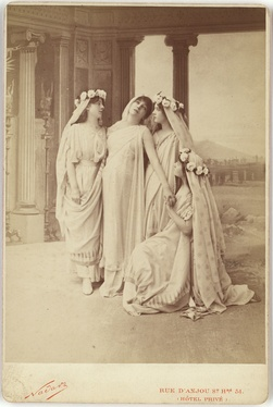 Phèdre by Racine at the Comédie française, (1873)