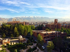 Sharif University of Technology is one of Iran's most prestigious higher education institutions.