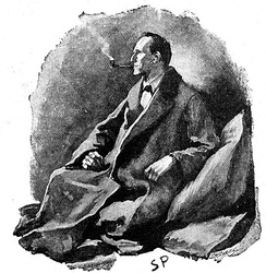 Sherlock Holmes serves as an inspiration for the series.