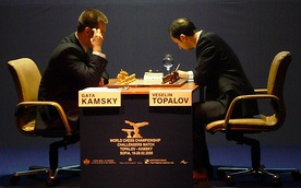 World Chess Championship - Challengers Match Topalov - Kamsky in Sofia, Bulgaria, 2009: Round 2.