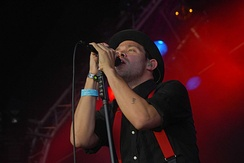 Young at Guilfest in 2009
