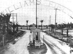 Williams Army Airfield - Main Gate 1942