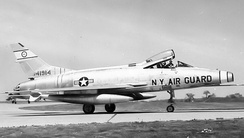 136th TFS F-100C 54-1914 about 1960