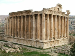 Temple of Bacchus at Baalbek, Lebanon