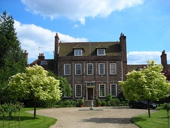 Byfleet Manor in Surrey is portrayed as the dower house