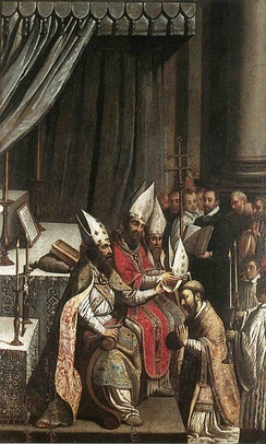 Episcopal consecration of Deodatus; Claude Bassot (1580-1630).
