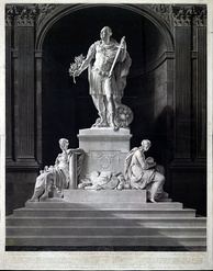 Statue of Cornwallis by John Bacon and John Bacon, Jr.  The statue now stands in the Victoria Memorial in Kolkata.