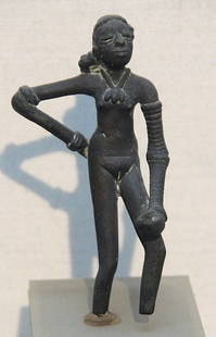 "The ""Dancing Girl of Mohenjo Daro"", Indus Valley civilization"