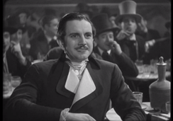 Fernando Cortés in the Spanish film Doña Francisquita (1934), his first lead role.