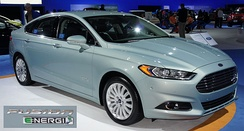 The Ford Fusion Energi plug-in hybrid shares its powertrain with the Ford C-Max Energi.