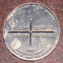 San Juan County includes the New Mexico section of the Four Corners Monument.