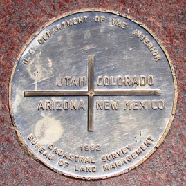 Apache County includes the Arizona section of the Four Corners Monument.