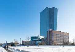 The new ECB headquarters, which opened in 2014.