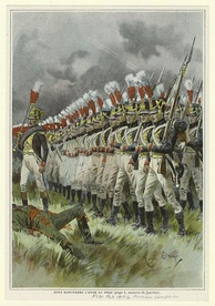 French infantry in 1812