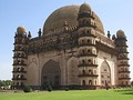 Gol Gumbaz at Bijapur, Karnataka, has the second largest pre-modern dome in the world after the Byzantine Hagia Sophia.