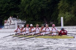 Harvard men's eight crew at Henley, 2004