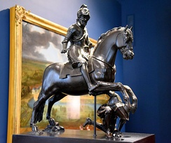 Henri IV on Horseback Trampling his Enemy. Bronze, circa 1615–1620. From France, probably Paris. Victoria and Albert Museum, London
