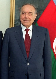 Former Azerbaijani President Heydar Aliyev was the first Azeri member of the Politburo.