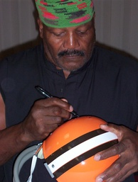 Brown at an autograph signing in 2004