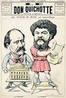 Jules Massenet and Jean Richepin (the last as Apollo Citharoedus), authors of Le mage, premiered at the Opéra-Comique in Paris on 16 March 1891.