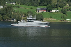 NoCGV Tor (W334 KYSTVAKT) from Nornen Class of the Norwegian Coast Guard